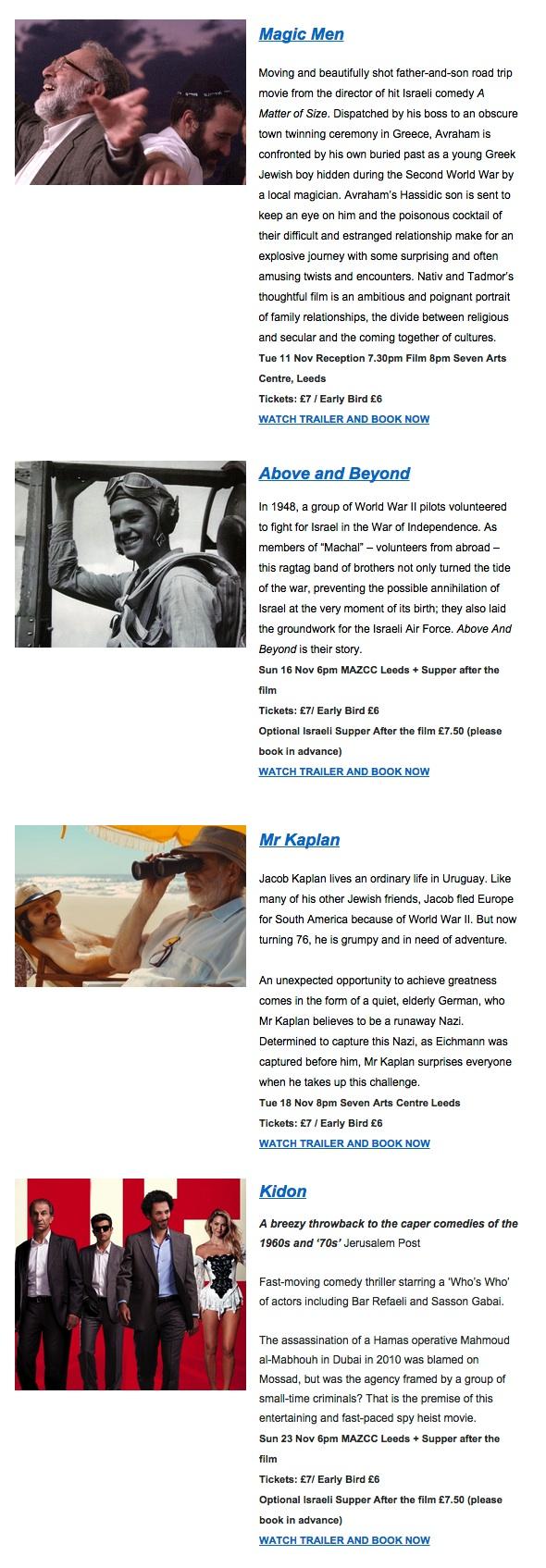 film festival descriptions.
